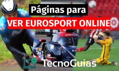 paginas ver eurosport online gratis