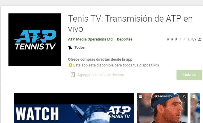 tenis tv app