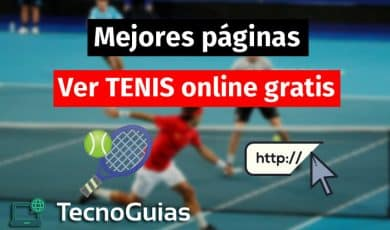 paginas para ver tenis online gratis