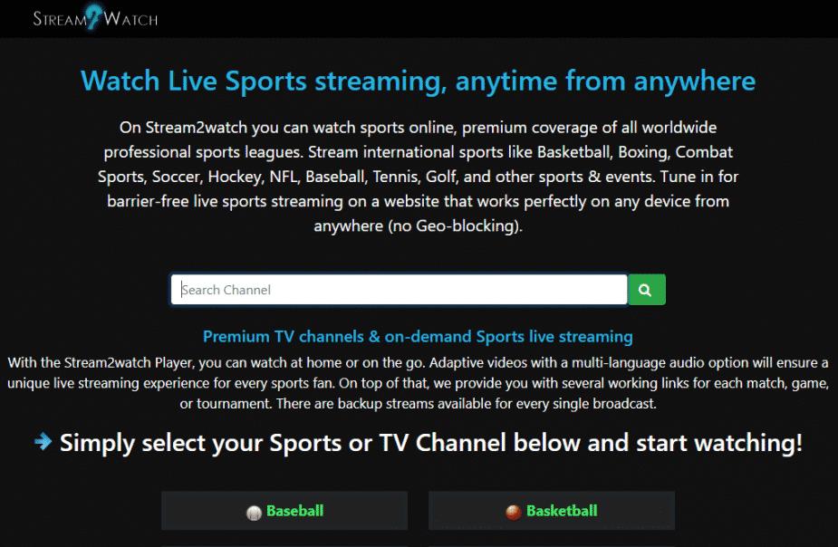 stream2watch se nba gratis