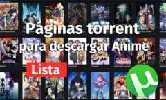 paginas anime torrent