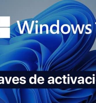 windows 11 claves de activación
