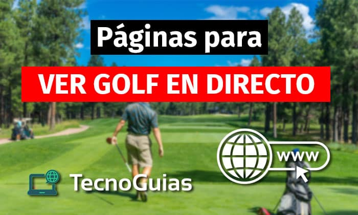 ver golf en directo gratis