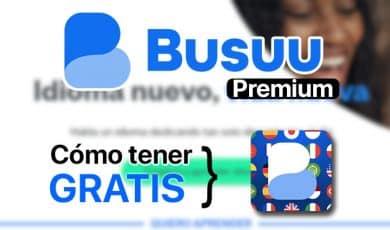 Busuu Premium gratis