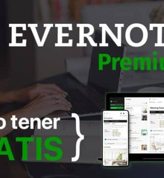 Evernote Premium Gratis