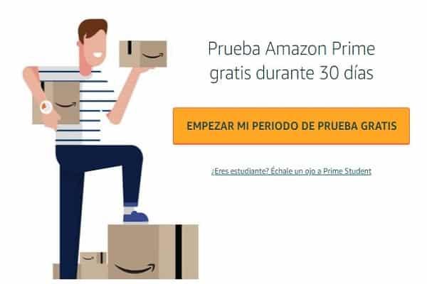 Amazon Prime gratis prøveperiode