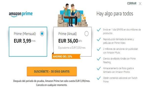 Amazon Prime 30 dage gratis