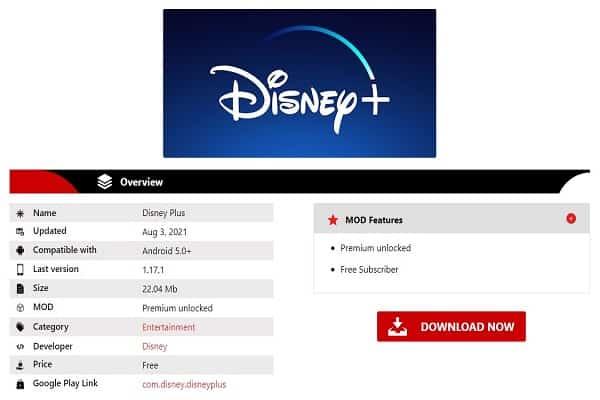 Disney Plus hack