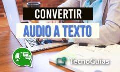 Audio in Text umwandeln