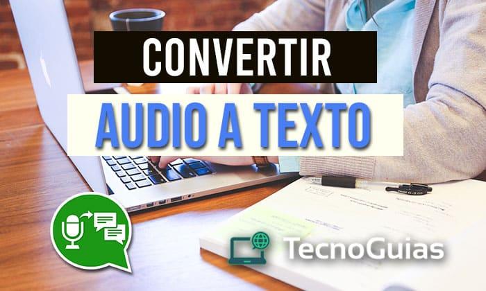 converter áudio em texto