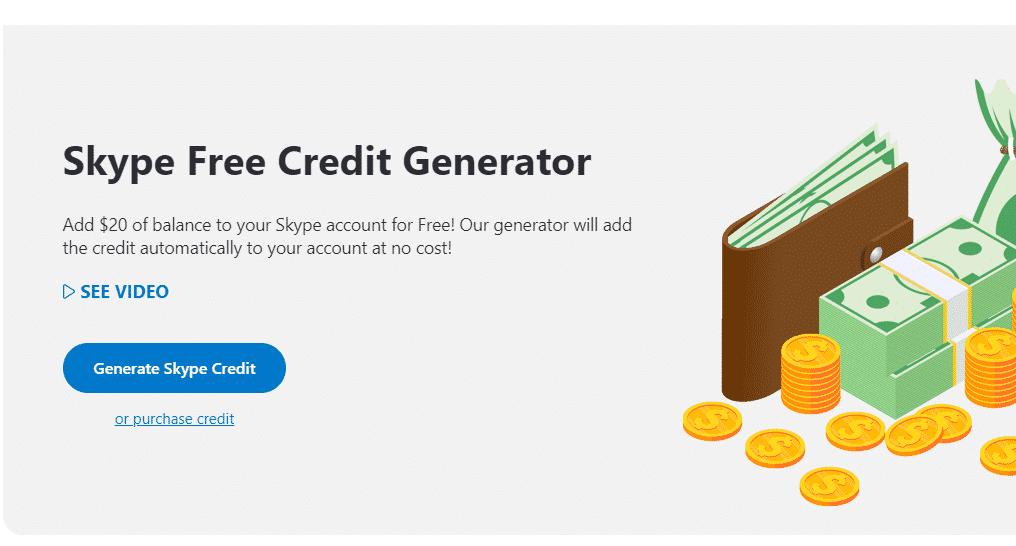 darmowy generator kredytów skype