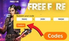 codes free fire